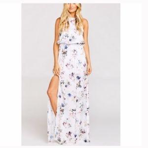 Show Me Your MuMu Heather Halter Dress NEW